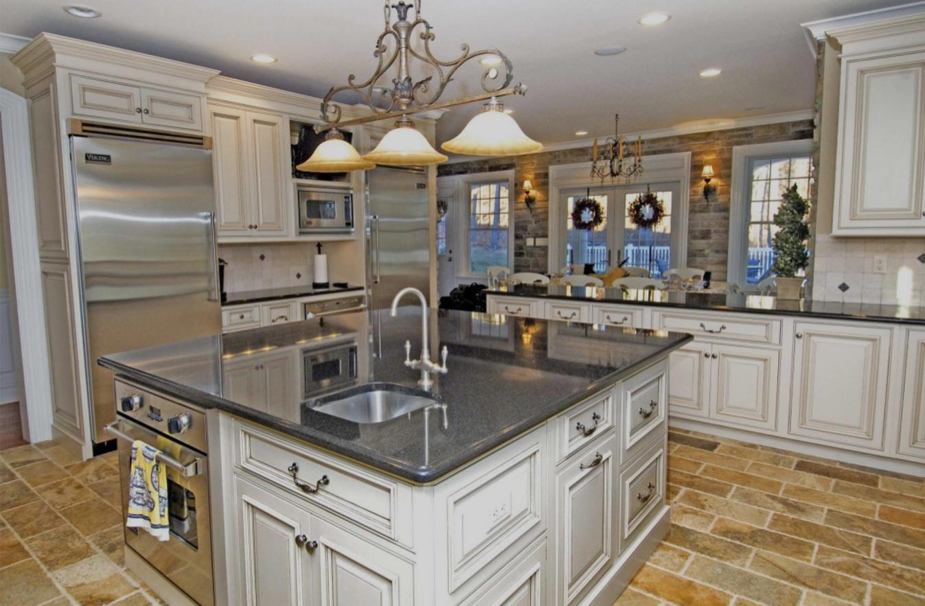 custom kitchen cabinets, closets & baths showroom - chantilly virginia