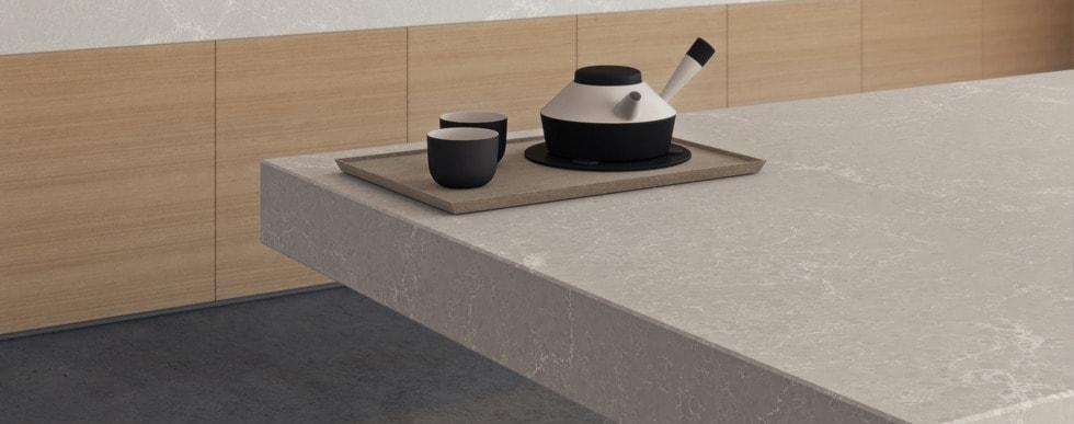 Сaesarstone Countertop Stone with teapot set