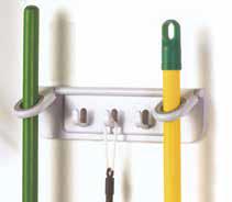 2 Stick Mop & Broom Organizer