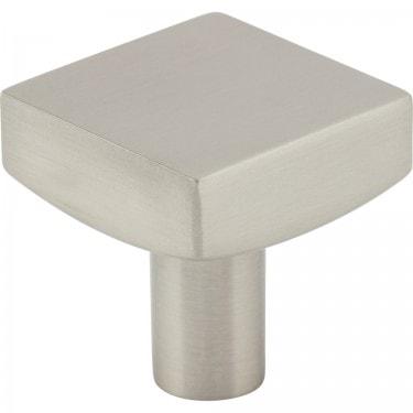 """1-1/8"""" Diameter Square Cabinet Knob."""