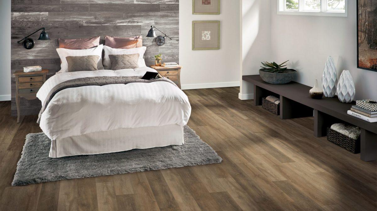 Armstrong Flooring bedroom design
