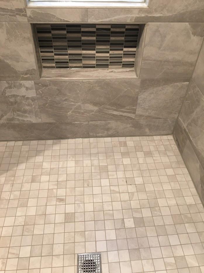 shower room flooring
