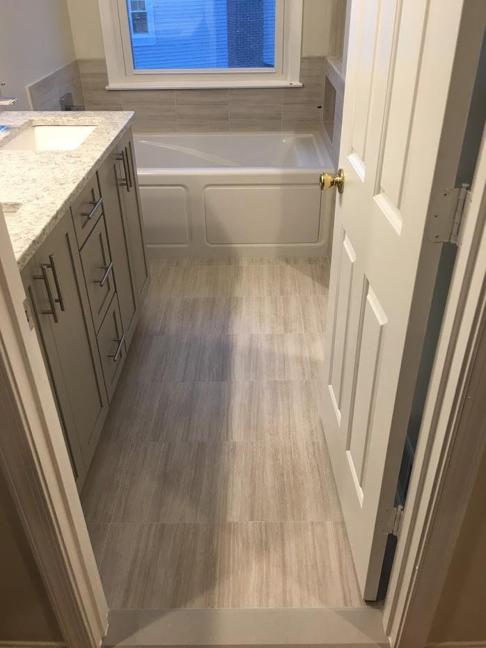 bathroom entryway flooring fairfax