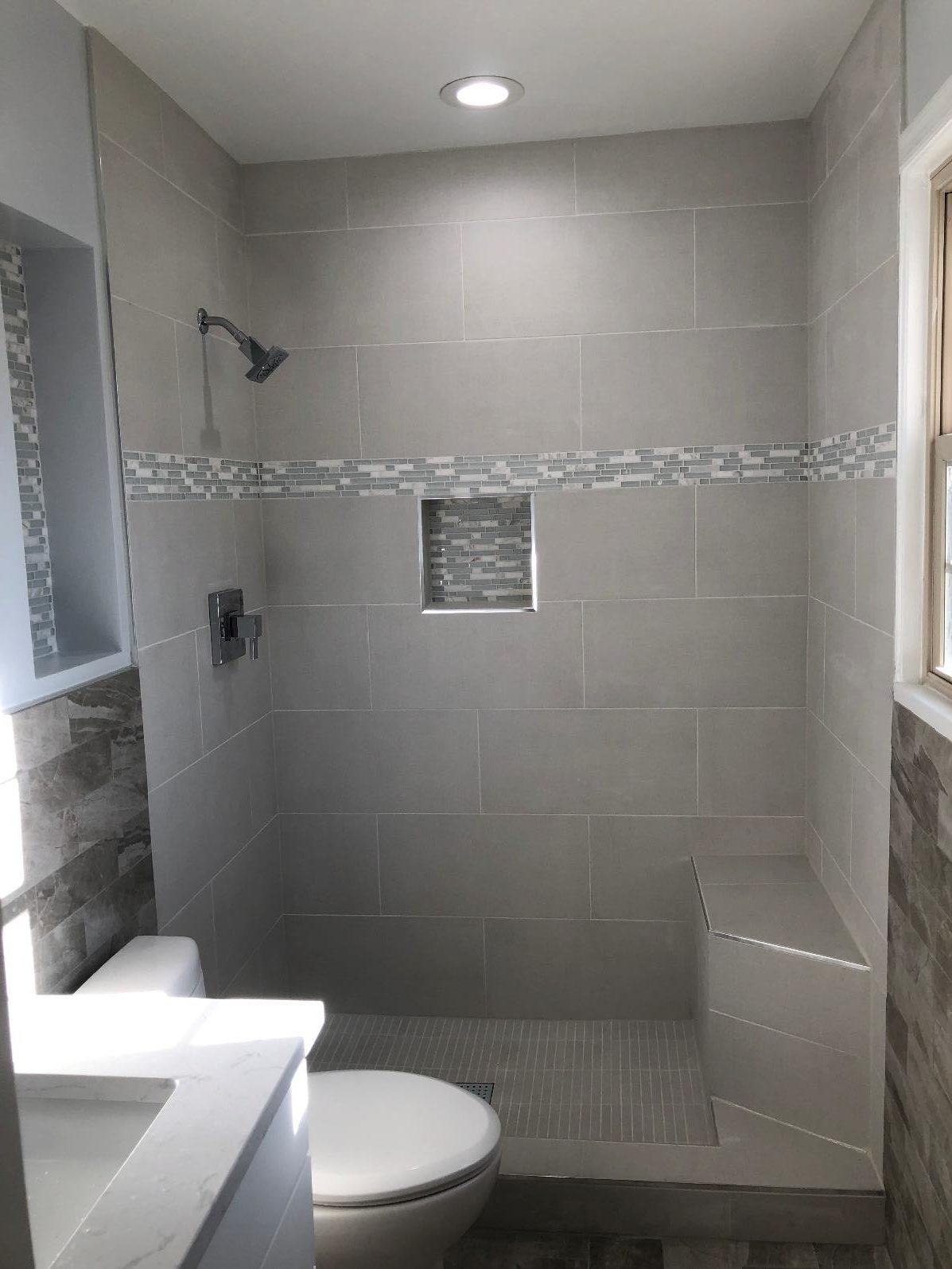 Master bathroom complete remodeling project