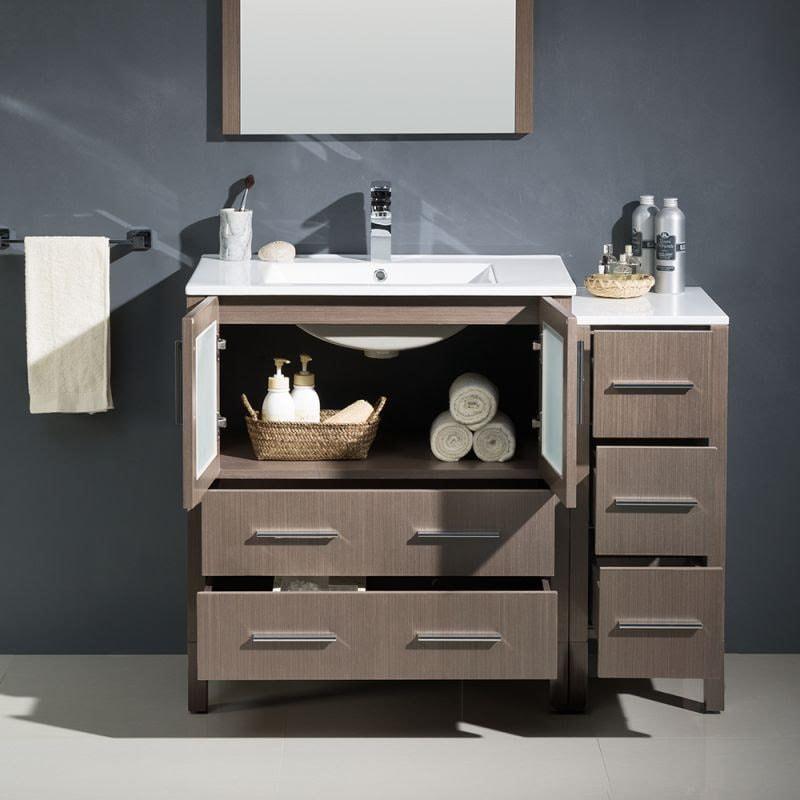 Bathroom Vanities pull out drawers