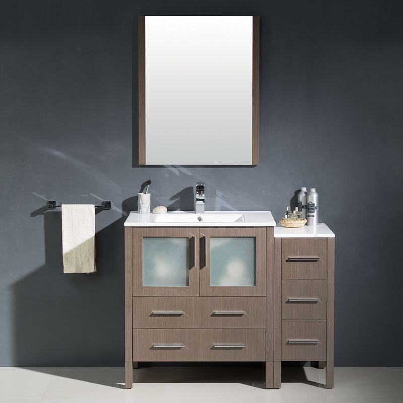 Bathroom Vanities simple bathroom setup