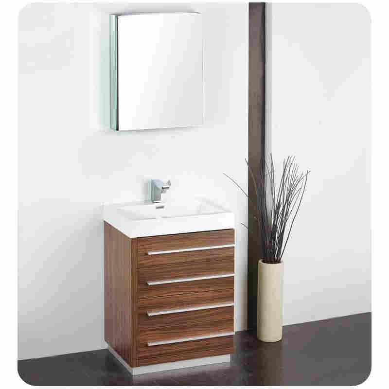 Bathroom Vanities classic white setup