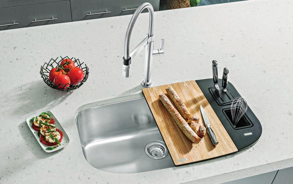 Multi purpose Blanco Sinks with cartridge faucet