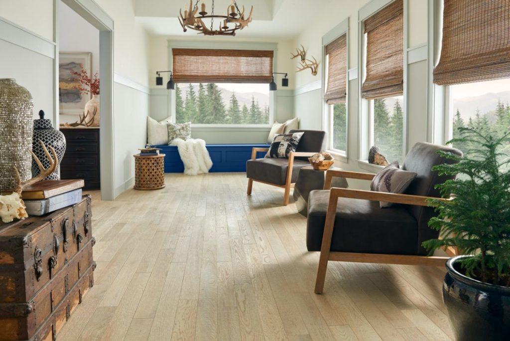 Bruce Hardwood living space design