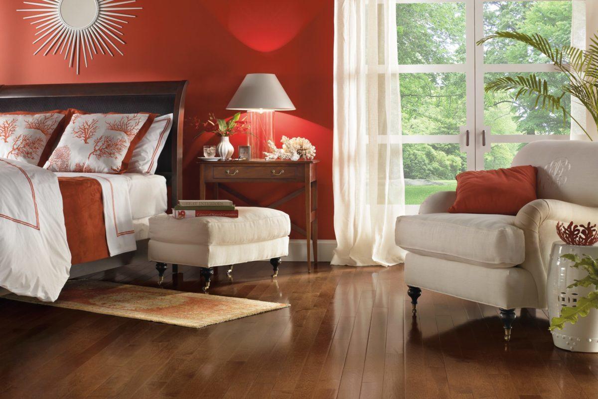 Bruce Hardwood hardwood flooring maple accent