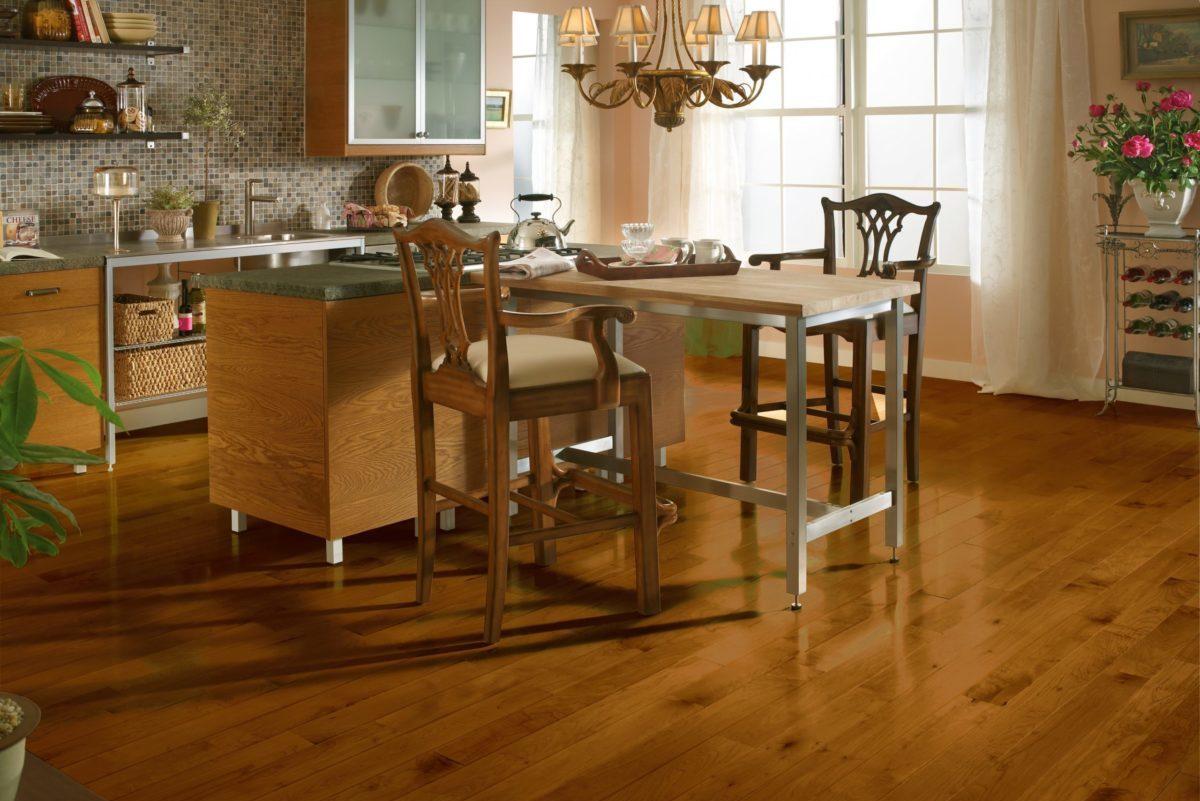 Bruce Hardwood kitchen design