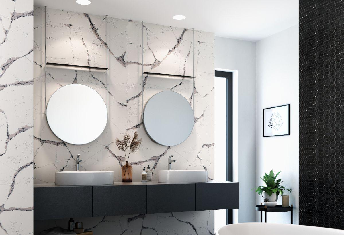 Cambria Countertop Stone modern bathroom design