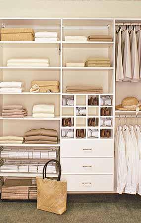 Organized closets & dressing room