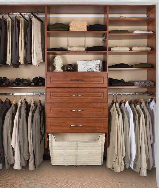 Wooden Closet & Dressing Room