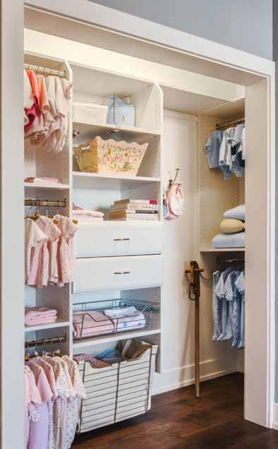 Kids custom closet and dressing room