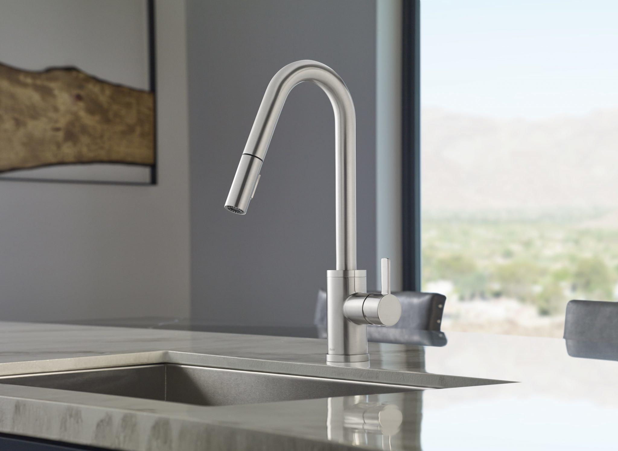Danze Faucets installation modern kitchen model