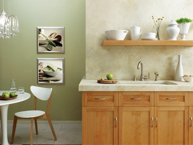 Danze Faucets neutral color kitchen design
