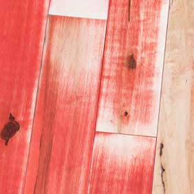 Hard Maple SoHo Red Homer Wood Tile