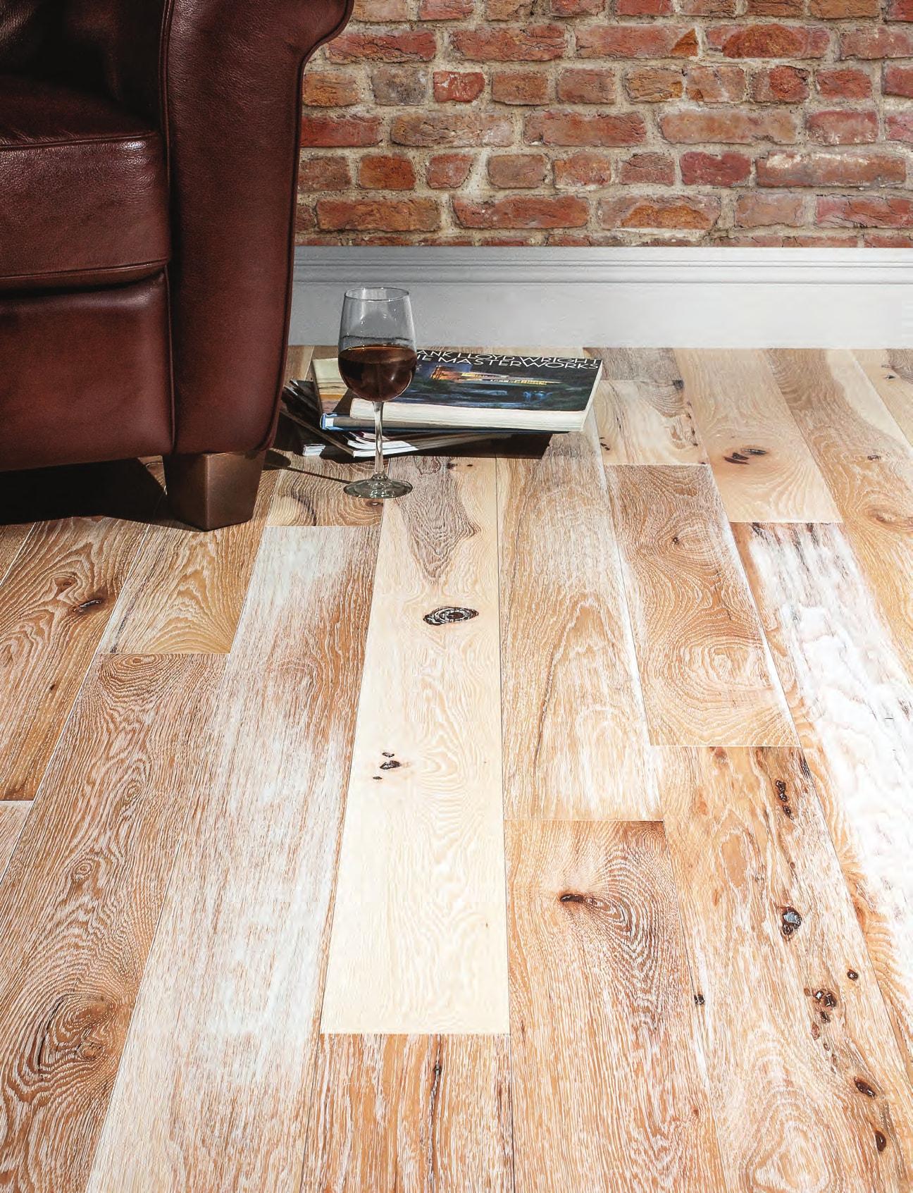 Homer Wood Mercier hardwood floor