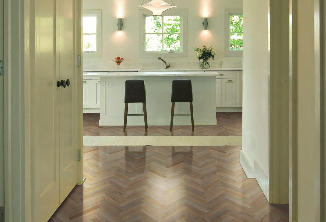 Homer Wood Mercier hardwood floor elegant kitchen