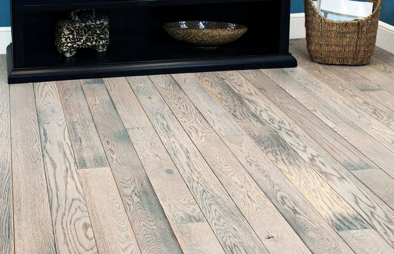 Homer Wood elegant living space flooring