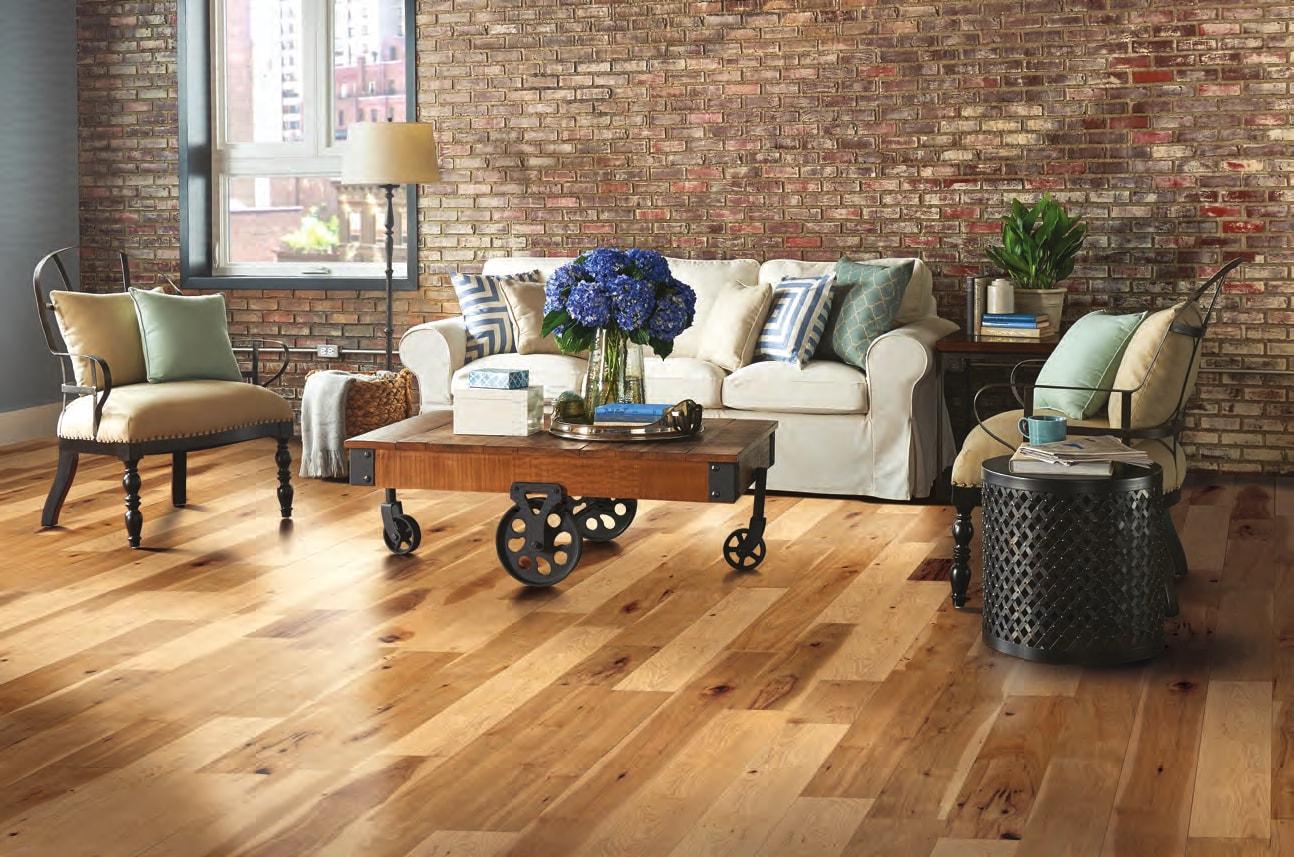 Homer Wood living space flooring