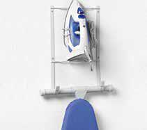 Wall Mount Iron & Ironing Board Holder