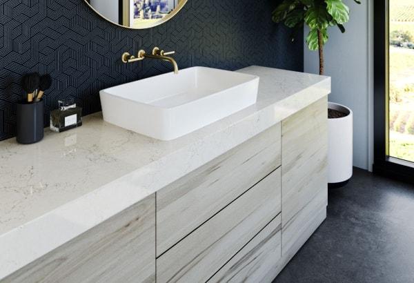 Custom quality bathroom cabinets