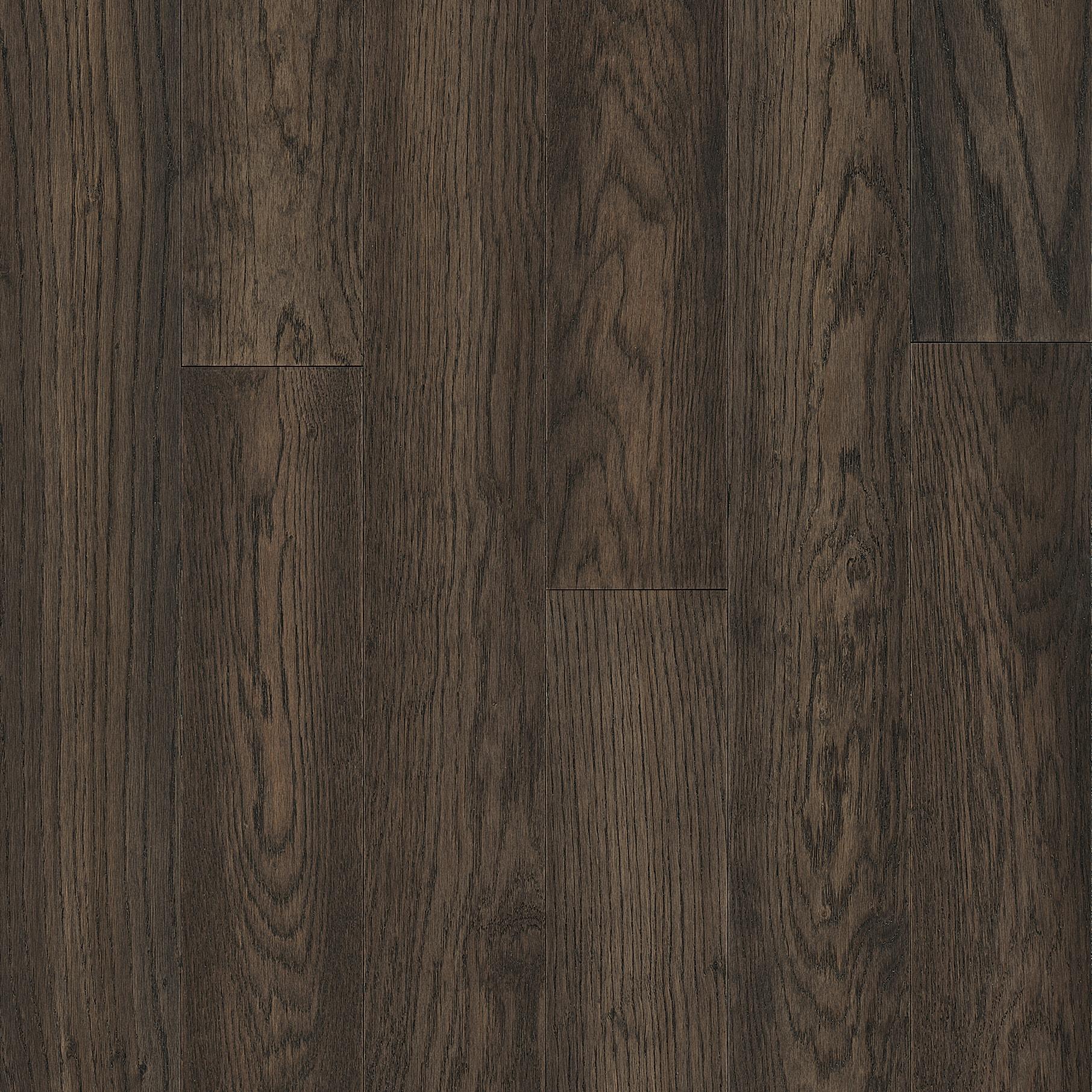 Dark brown hardwood floor