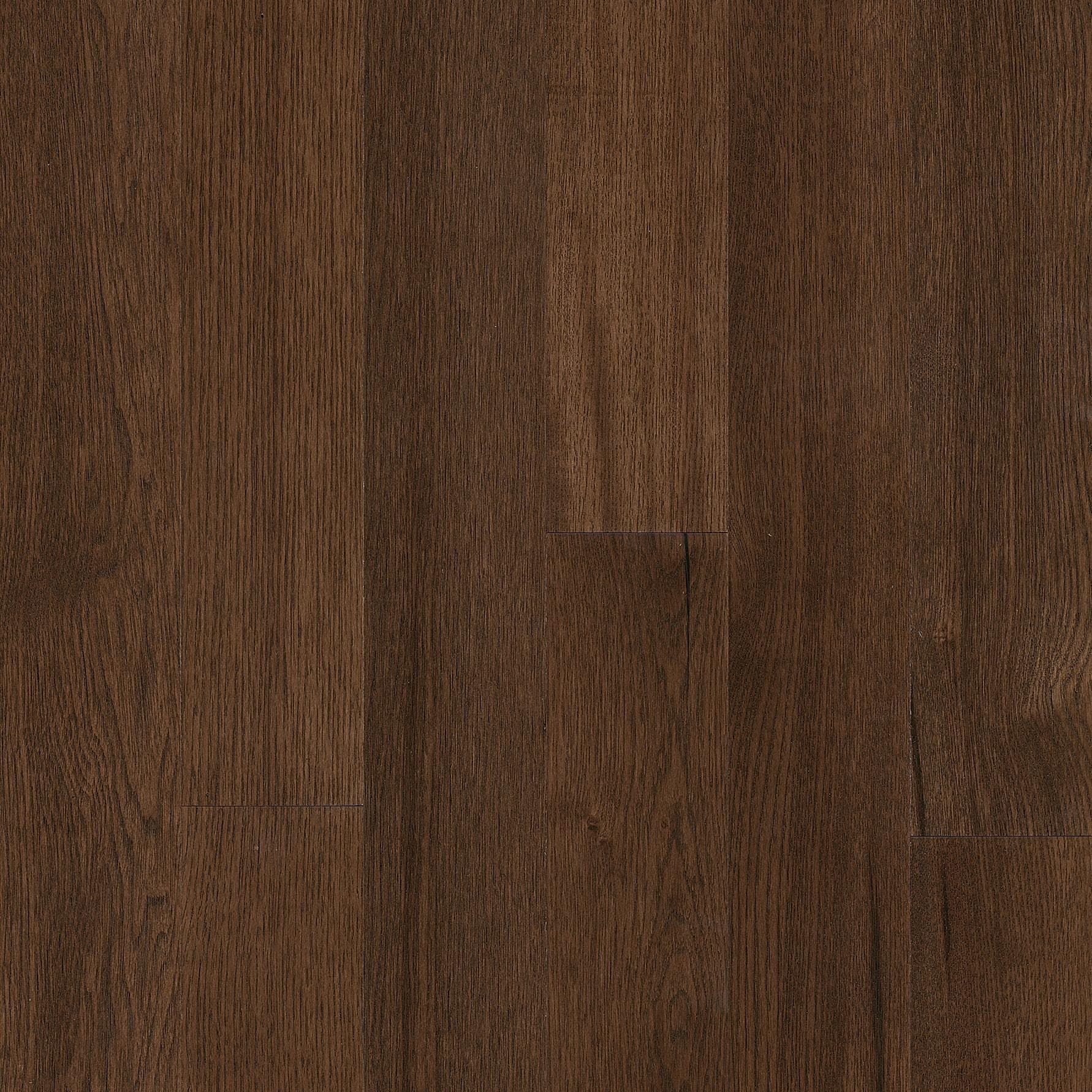 Medium brown hardwood floor