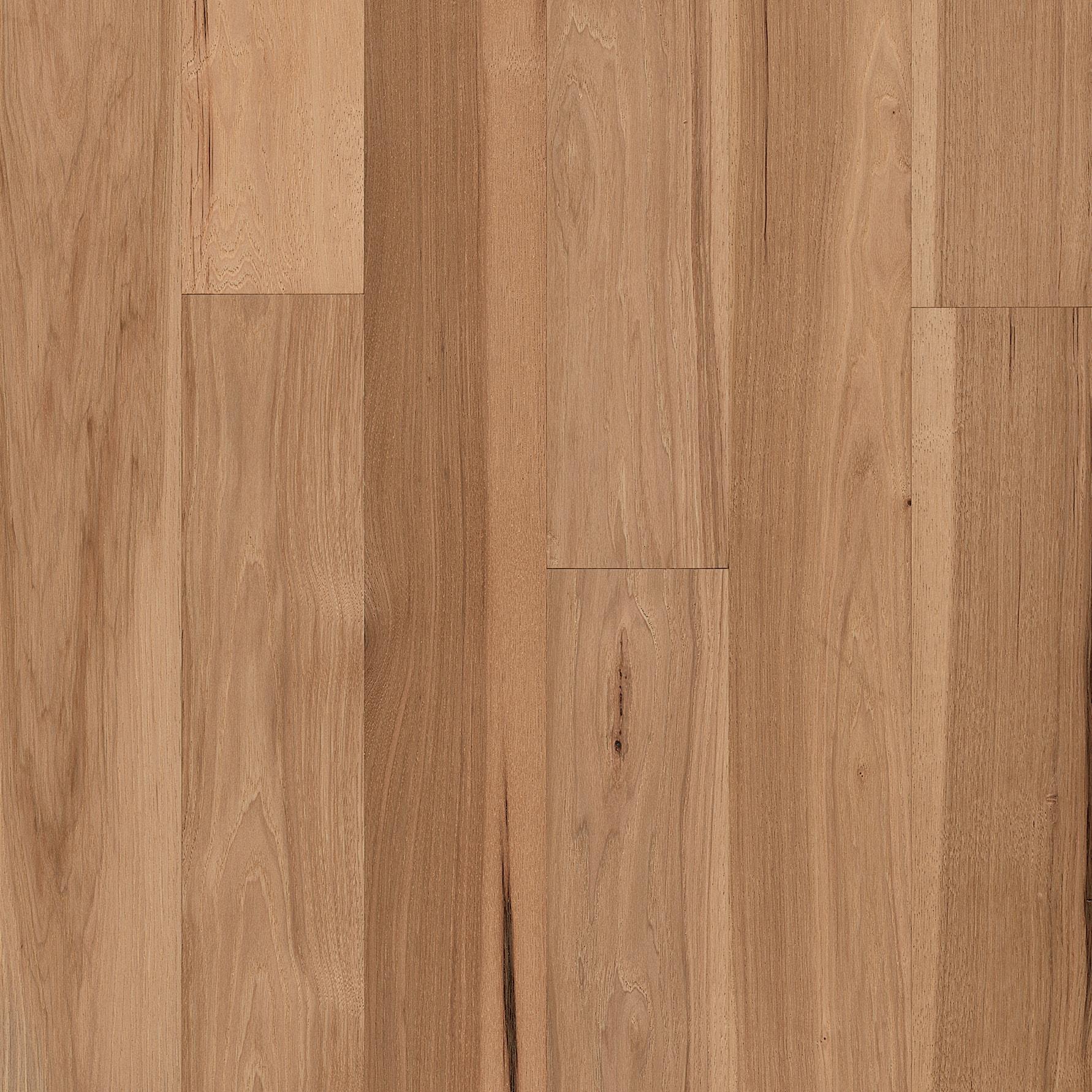 Natural hardwood floor