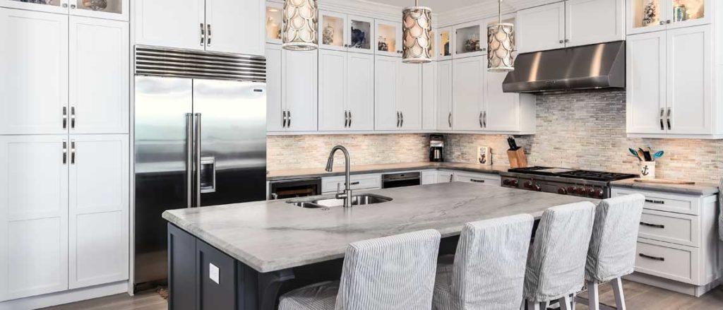 Modern kitchen design with Starmak cabiniets