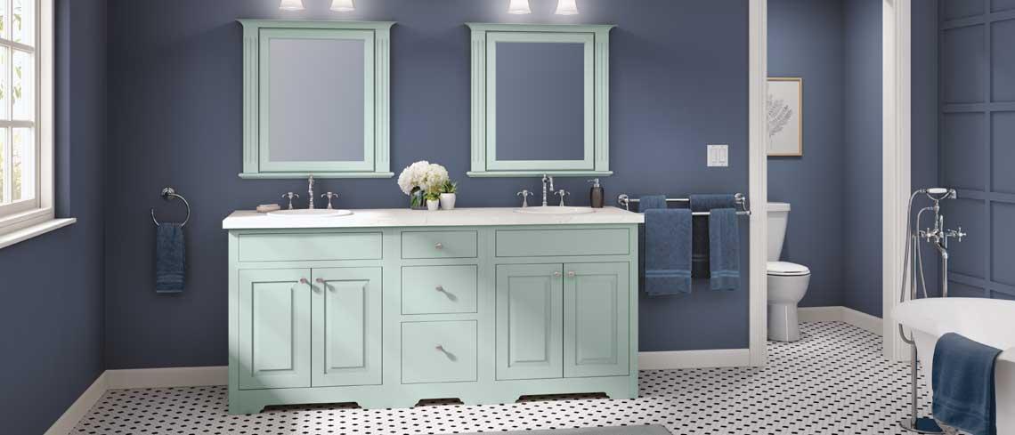 Danburg inset bathroom design