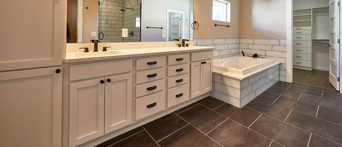 Marshmallow Cream bathroom design