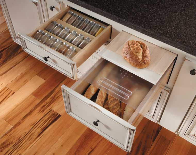 Bread Board and multi-layer drawer