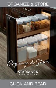 Starmark cabinet and storage