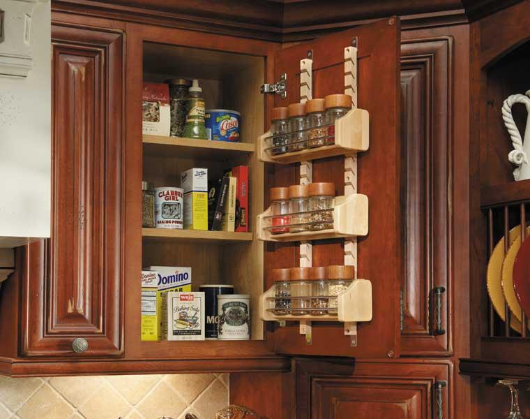 Spice Shelf Wall