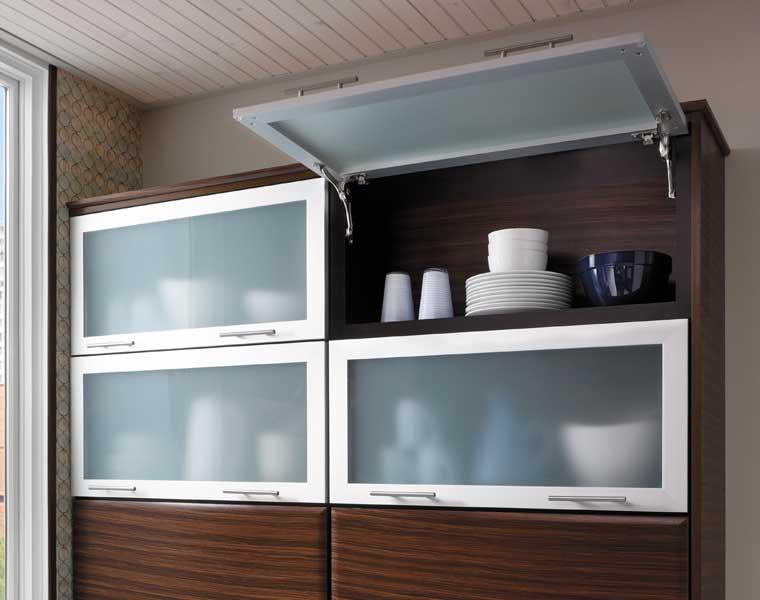 Wall Cabinet with Tip Up Door